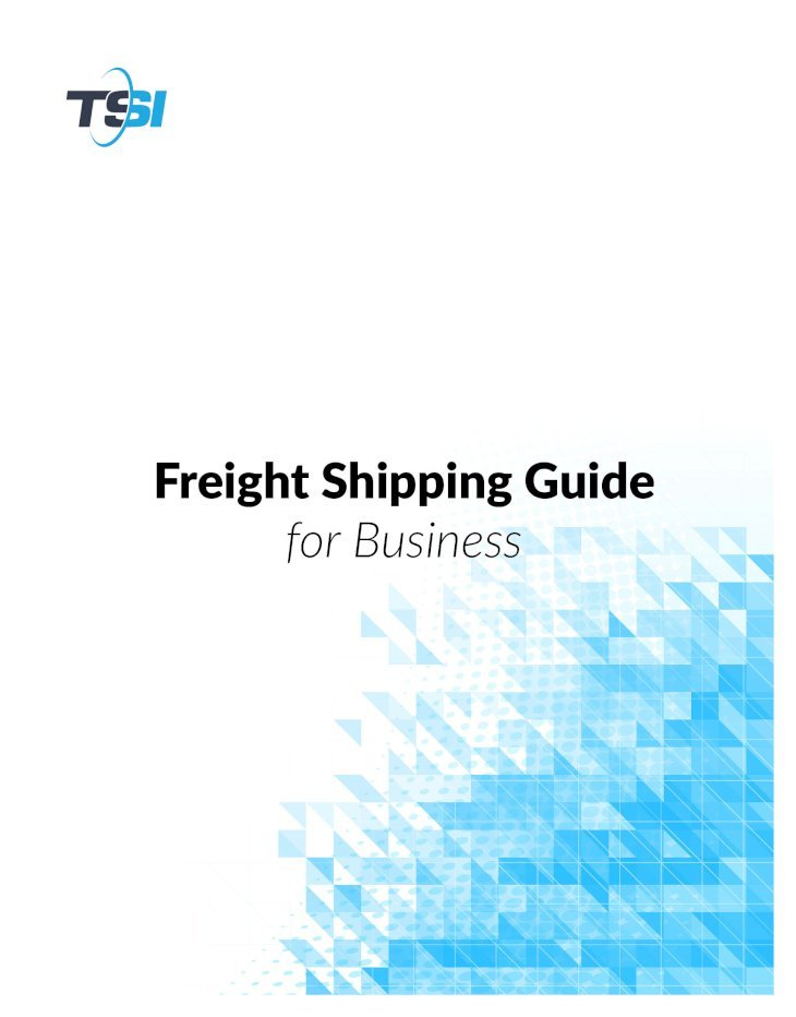 Freight Shipping Guide FCL (Full Container Load) FCL ...